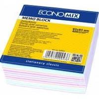 Бумага для заметок  цветная 85х85, 400 листов