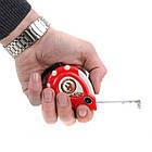 """Рулетка с металлическим полотном 3 м x 16 мм """"Супер Магнит"""" blister INTERTOOL MT-0303, фото 5"""
