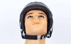 Шлем горнолыжный с механизмом регулировки MOON RT-ZEL-MS-6287-BK, фото 3