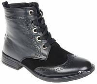 Ботинки Lapsi 16-1300 35 (22.8 см) черные, фото 1