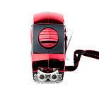 Рулетка 5 м x 19 мм с автоматической блокировкой полотна, на зацепе полотна установлены магниты INTERTOOL MT-0805, фото 6