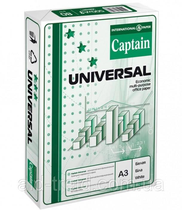 Папір офісний Captain Universal  А3 80 г/м *при замовленні від 5 пачок