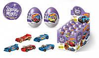 """""""HOT WHEELS 2"""" Шоколадное яйцо с сюрпризом , Конфитрейд, фото 1"""