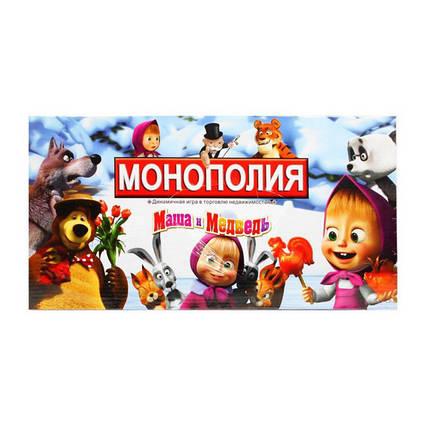 """Монополия """"Маша и Медведь"""""""