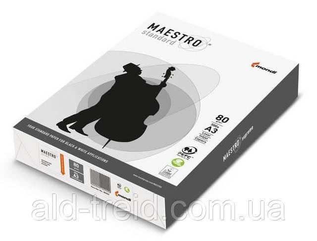 Бумага офисная Maestro Standard А3 80 г/м2 (Словакия) *при заказе от 5 пачек