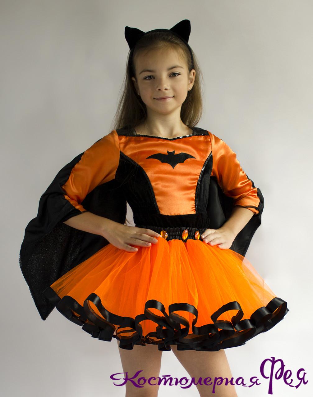 Летучая мышь, детский карнавальный костюм (код 43/88)