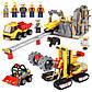 Конструктор Lepin 02102 (Lego City 60188 Mining Experts S) Шахта (989 дет.), фото 6