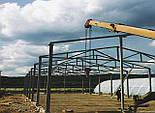 Ангар Двускатный 24х24 навес, фермы, склад, сто, помещение, каркас, фото 2