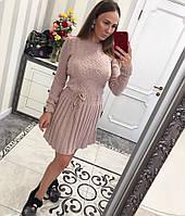 Платье теплое вязаное в Украине. Сравнить цены, купить ... 055e44d5a57