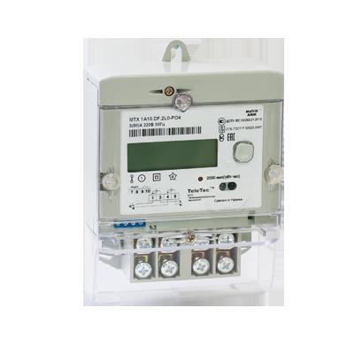 Электросчетчик MTX 1A10.DF(DH).2L0-YD4 однофазный многотарифный, фото 2
