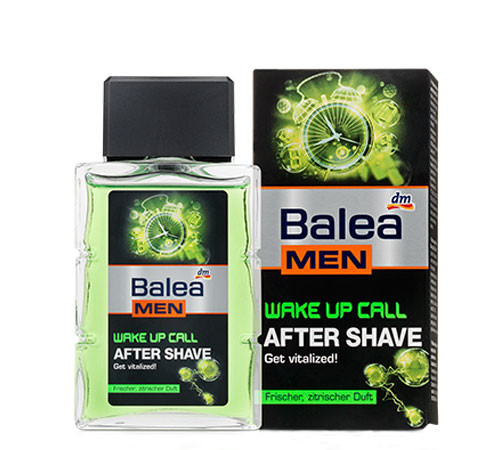 Balea wake up call After Shave лосьон после бритья 100 мл