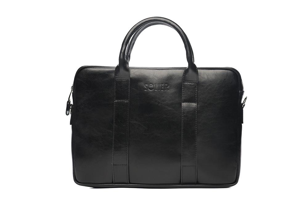 """Кожаная сумка для ноутбука 15,6"""""""