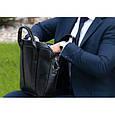 """Кожаная сумка для ноутбука 15,6"""", фото 10"""