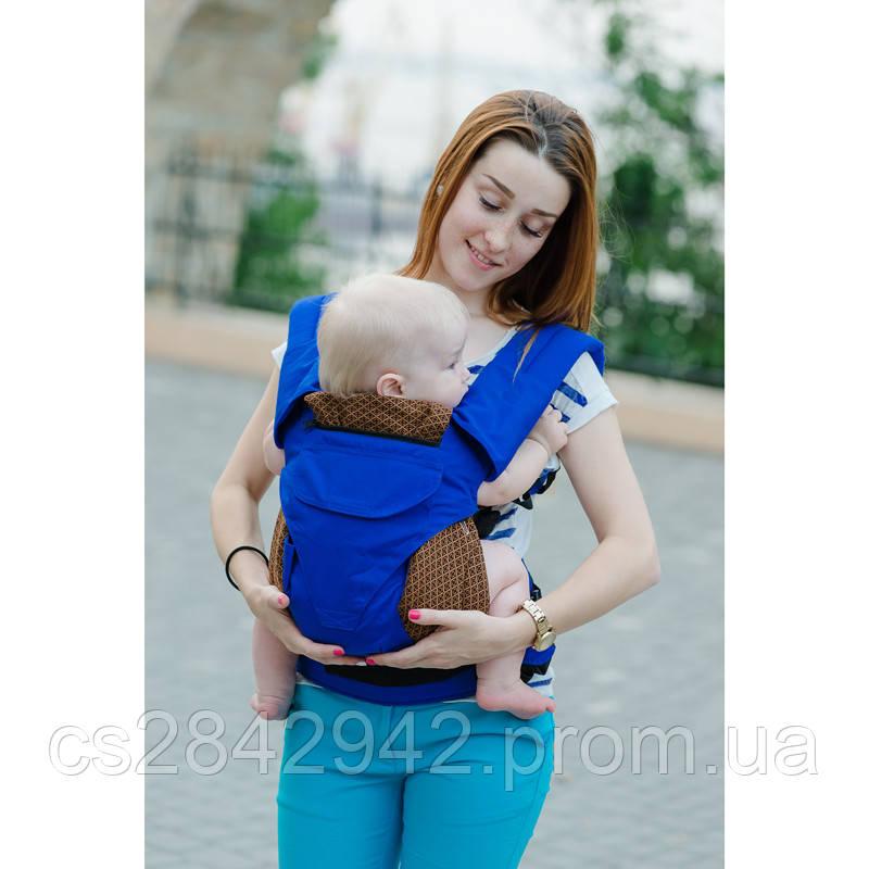 Ерго-рюкзак Світ навколо синій