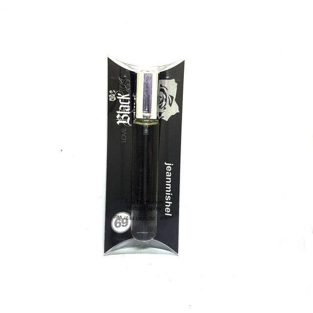 Мужской Мини-парфюм Jeanmishel Love  Black XS (20 мл ) № 69
