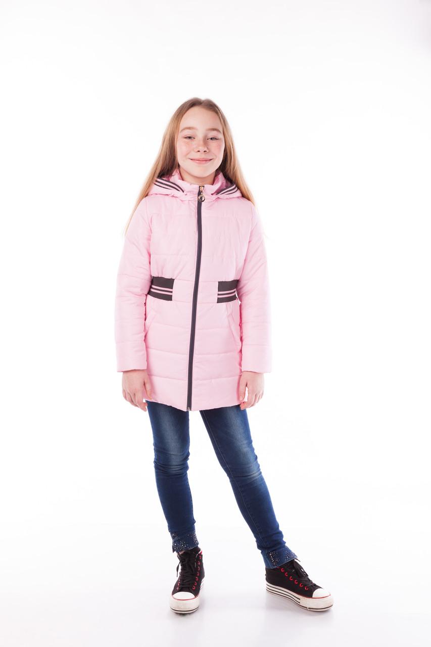 Куртка утепленная для девочки на осень, рост 122, 128, 134, 140