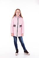 Куртка утепленная для девочки на осень, рост 122, 128, 134, 140, фото 1