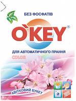 Стиральный порошок для автоматической стирки цветного белья O'key Цветочный букет 400 г