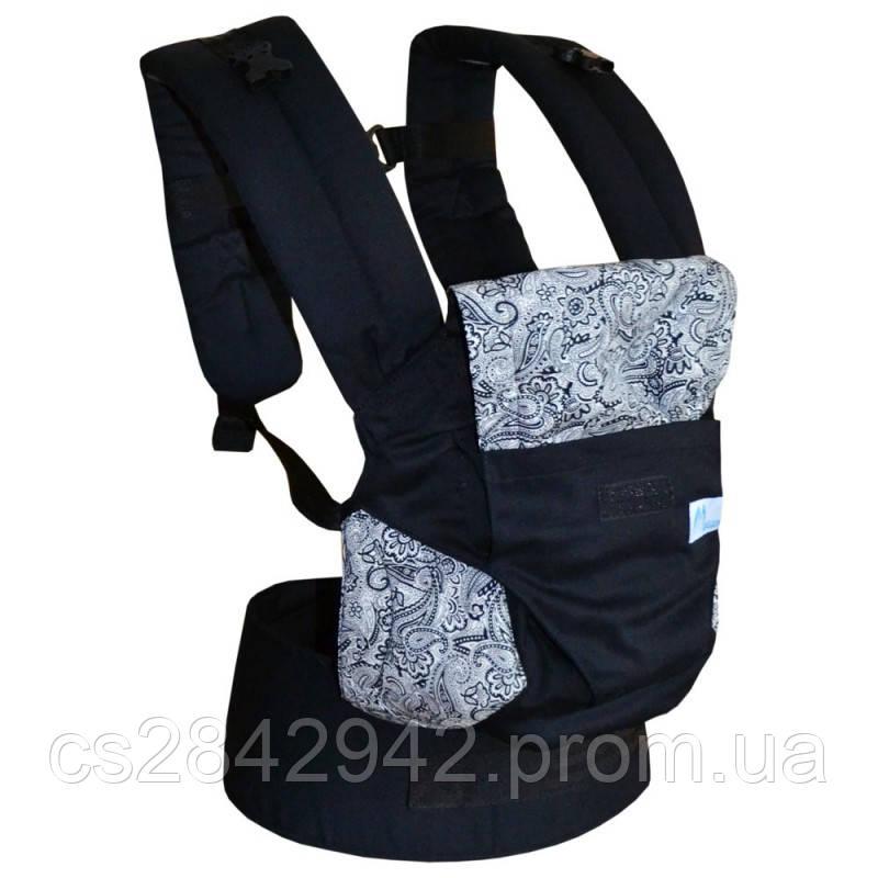 Ерго-рюкзак Світ навколо чорний
