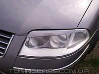 Накладки на фары (реснички) Volkswagen Passat B5 3BG (01-05)