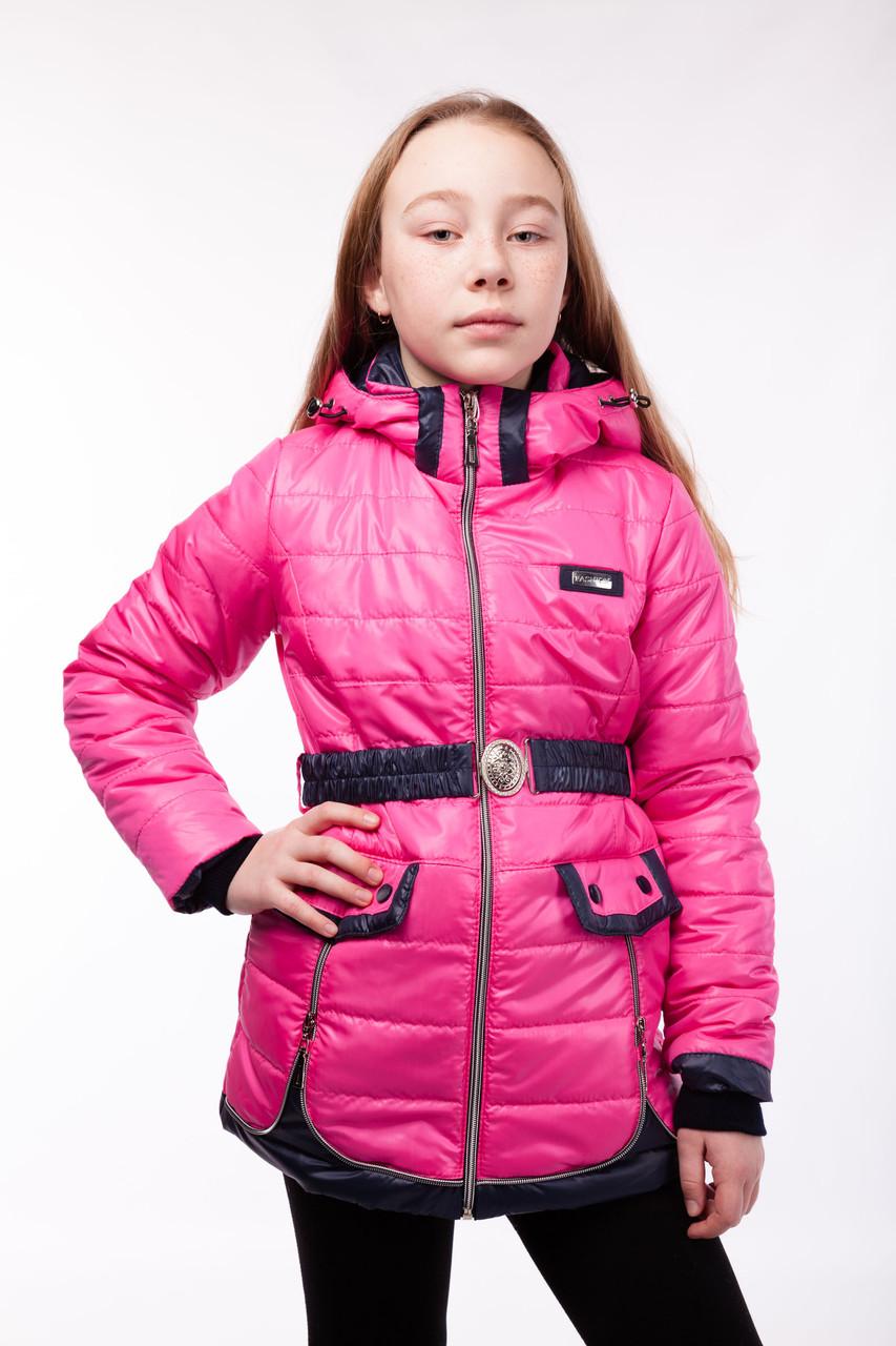 Куртка осенняя на девочку, рост 116 - 146 см