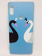 Чехол Xiaomi Redmi Note 5 BlvckWhite Swan