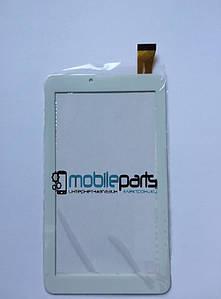 """Оригинальный Cенсор (Тачскрин) для планшета 7"""" RoverPad Air S70 3G 30pin(184x104mm)(Белый)"""