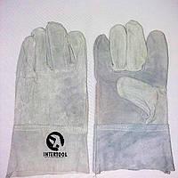 Перчатки спилковые Краги Сварщика
