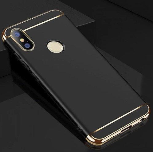 Чехол с золотыми вставками для Xiaomi Mi A2 Lite / Redmi 6 Pro (2 Цвета)