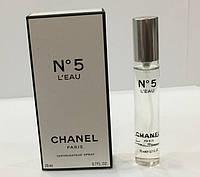 Минипарфюм 20 ml Chanel № 5 L'eau (Шанель №5 ліу)