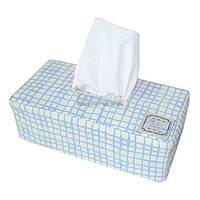 """Чехол на салфетницу Прованс #AndreTan """"Голубая клетка"""" 23х7х11 см (000221)"""