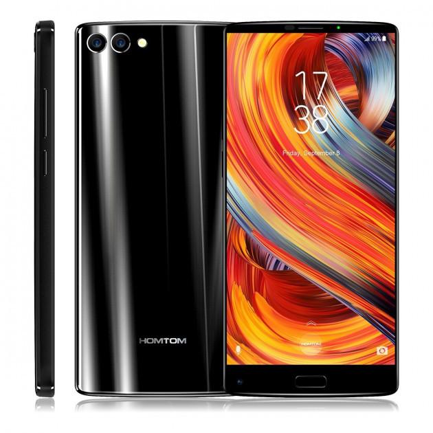 "Смартфон Homtom S9 Plus Black, 4/64Gb, 16+5/13Мп, 8 ядер, 2sim, экран 6"" IPS, 4050mAh, GPS, 4G, Android 7.0"