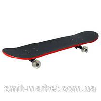 Скейт MS 0355 79-20см,алюм.подвес,колесПУ,9сл, ,6видов,разобр,, фото 2
