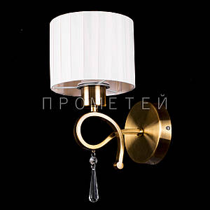 Бра модерн на 1 лампочку с абажуром P13-1029/1W/GAB