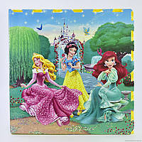 Игровой коврик-пазл Принцессы C 3028