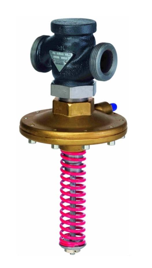 Регулятор перепада давления Siemens VHG519K40-21