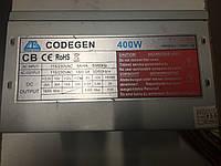 Блок питания для компьютера б/у Codegen 400W , фото 1