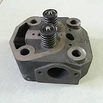 Головка цилиндра в сборе на мототрактор ZUBR 12л.с. форсунка Ø21мм, фото 3