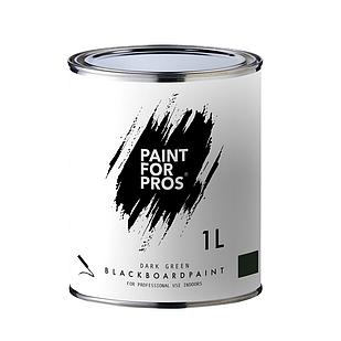 Грифельная краска Paintforpros 1 л. зеленая