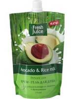 Гель для душа дой-пак Avocado&Rice milk 170 мл Fresh Juice
