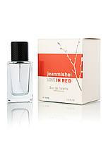 60 мл Мини-парфюм  JEANMISHEL LOVE IN RED (ж) кубик - 1