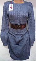 Платье женское (шерсть/ акрил), фото 1