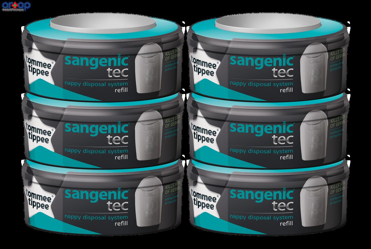 Сменная касета для накопителя подгузников Sangenic Tec 6 шт