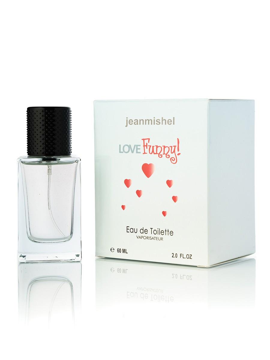 60 мл Міні-парфюмJeanmishel Love Funny (ж) 61 кубик