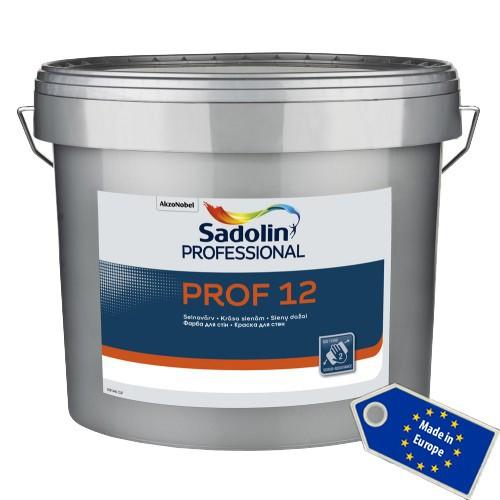 Полуматовая латексная краска Sadolin PROF 12 10л