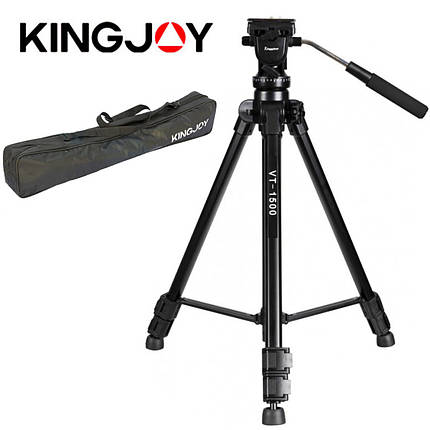 Видеоштатив Kingjoy VT-1500, фото 2