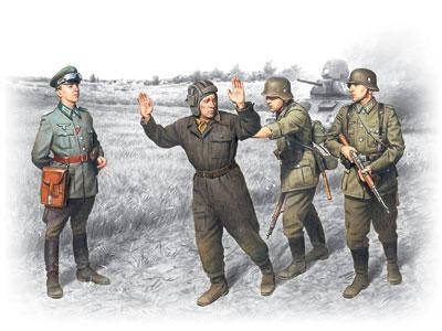 ОПЕРАЦИЯ «БАРБАРОССА»; 22 ИЮНЯ 1941 Г. 1/35 ICM 35391  , фото 2