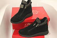 Новая модель, ботинки деми, верх замша натуральная легкие, очень удобные