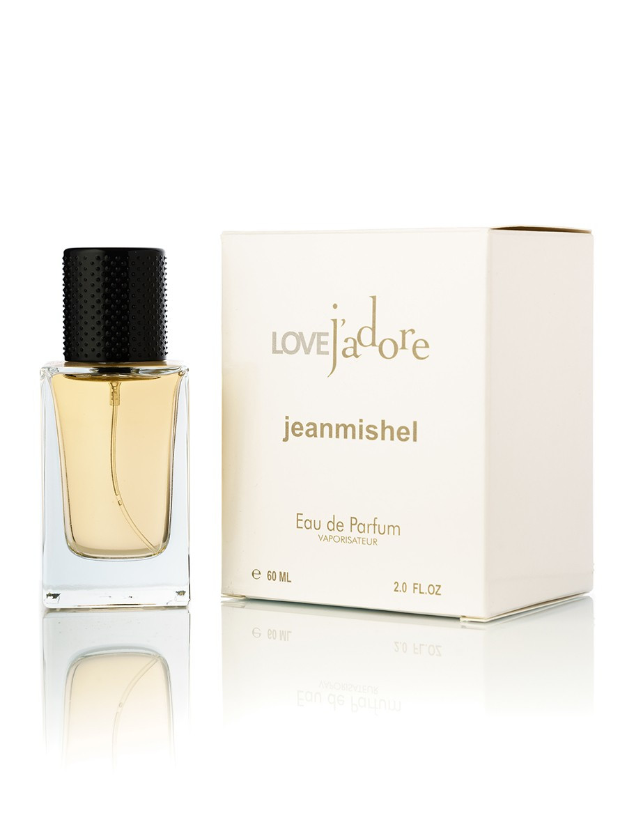 60 мл Міні-парфуми JEANMISHEL LOVE JADORE (ж) кубик 23