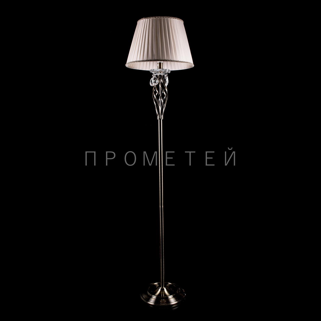 Торшер с абажуром на 1 лампочку P13-RM1001/1F/AB
